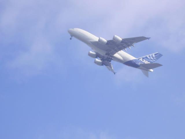 Vol d'éssai de l'A380