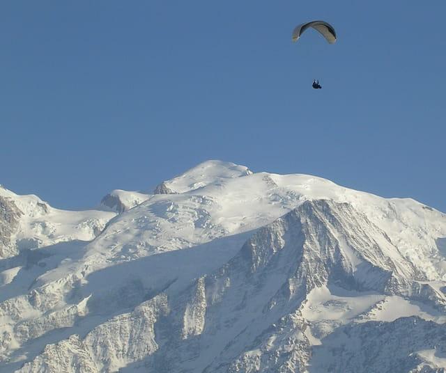 Vol libre en montagne
