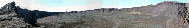 Volcan île de la reunion 2005