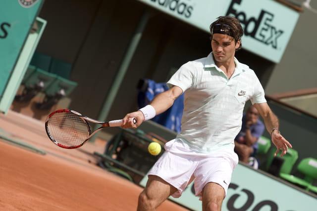 Volée de Federer