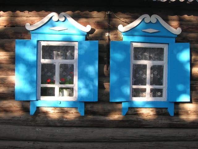 Volets bleus