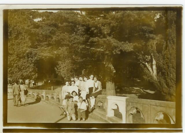 Voyage à Lourdes dont faisait partie maman