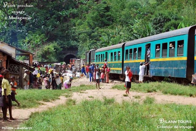 Voyage en train Fianarantsoa - Côte Est