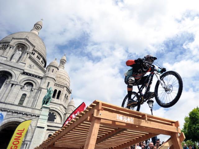 VTT à Montmartre