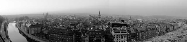 Vue citadelle Namur