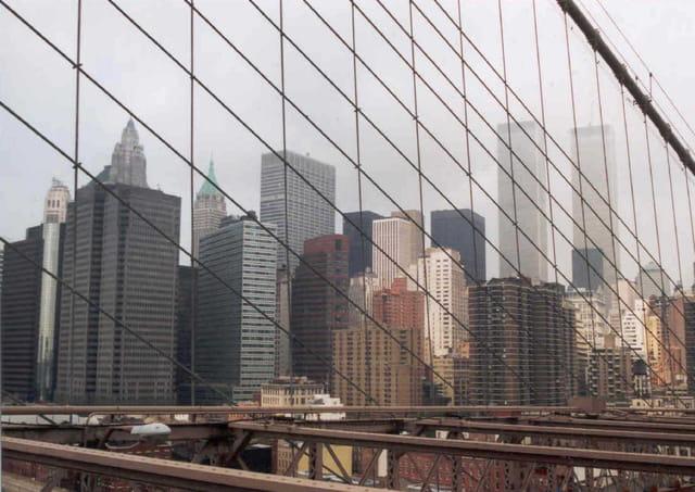 Vue de Brooklyn Bridge