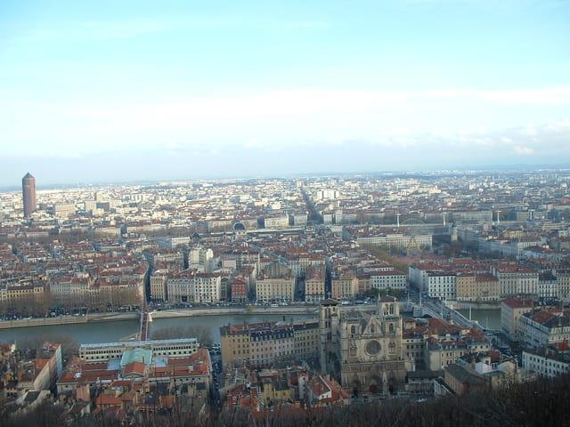 Vue de de Lyon