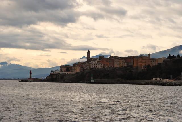 Vue de la citadelle de Bastia