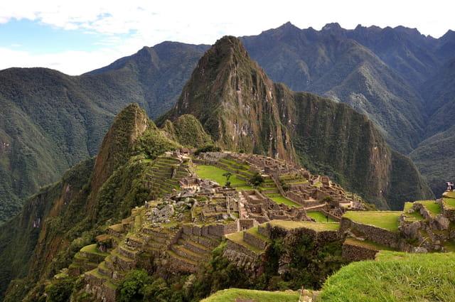 Vue de Machu Pichu