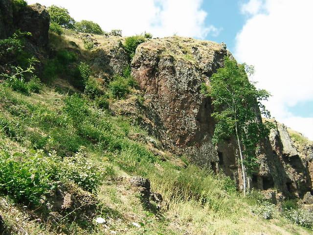 Vue des grottes de jonas