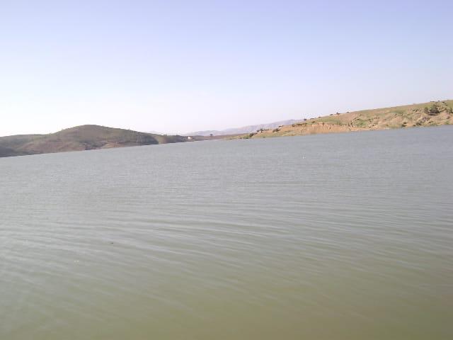 Vue du Barrage de Zeddine