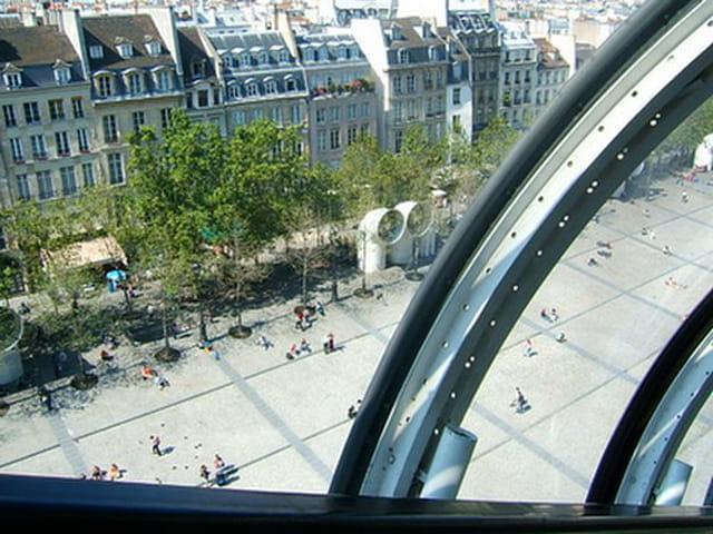 vue du Centre Pompidou