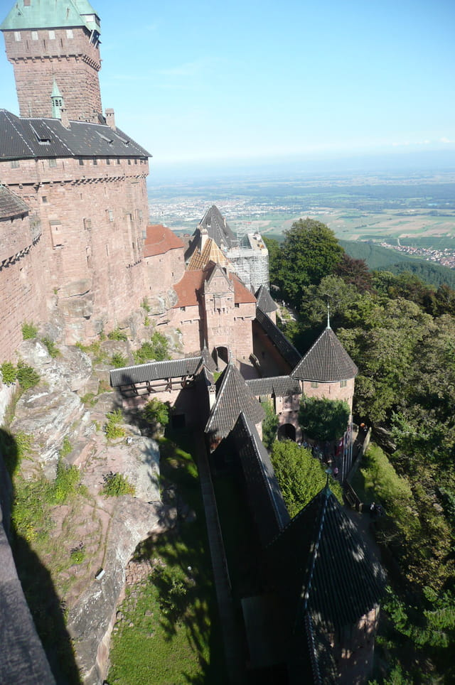 Vue du Château du Haut-Koenigsbourg