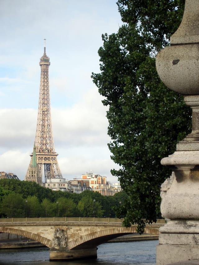 Vue du pont Alexandre III