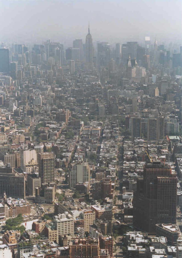 Vue du World Trade Center