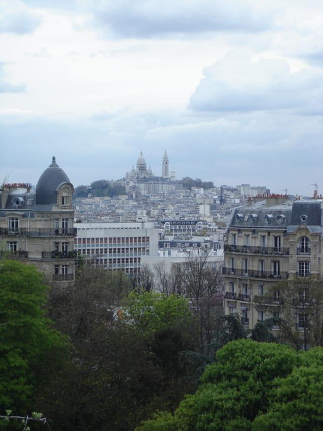 Vue en hauteur de Paris