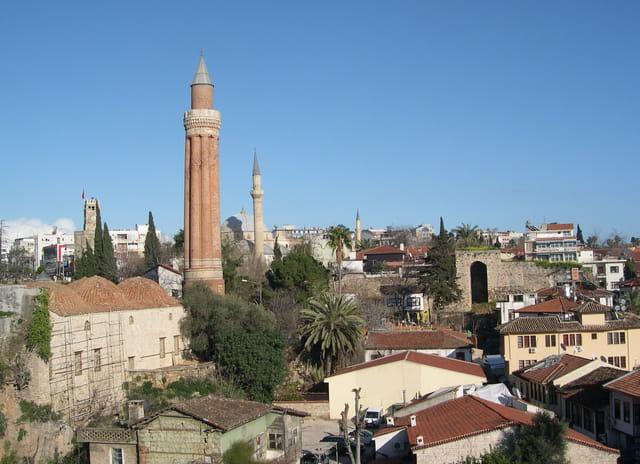 Vue générale de la vieille ville
