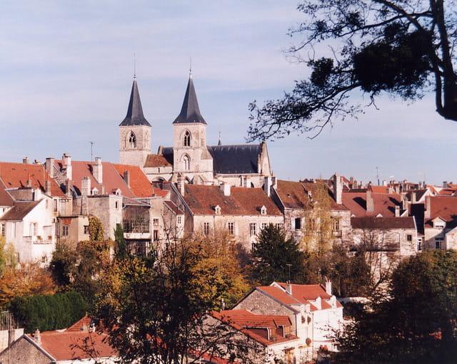 Vue générale sur la vieille ville