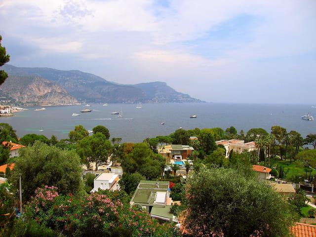 Vue panoramique sur St.Jean cap Ferrat (4)