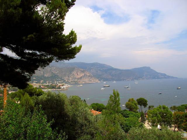 Vue panoramique sur St.Jean cap Ferrat (5)