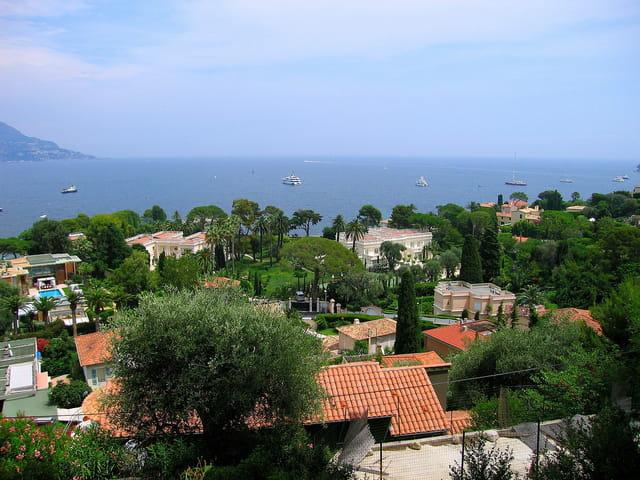 Vue panoramique sur St.Jean cap Ferrat (7)