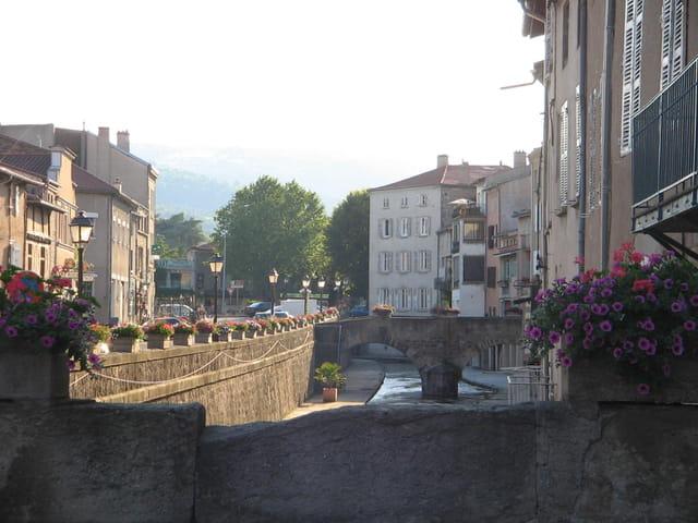 Vue Pont sur Vizezi