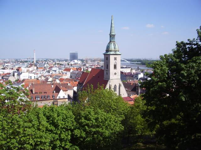 Vue sur Bratislava