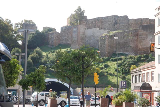 vue sur la forteresse Gibralfaro