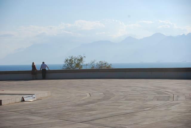 Vue sur la méditerranée