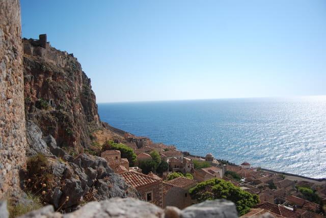 vue sur la mer egée