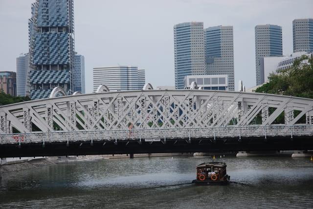 vue sur la rivière Singapour