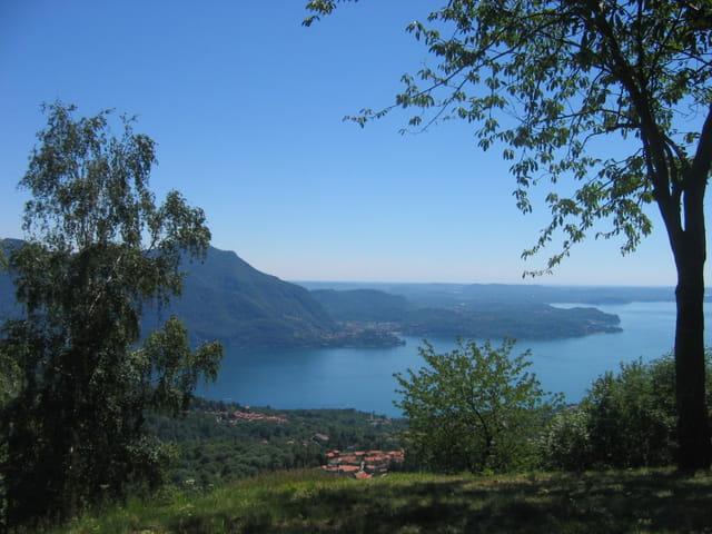 Vue sur le lac majeur