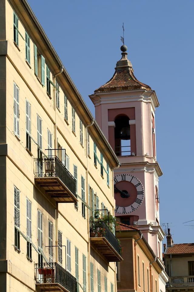 Vue sur le palais rusca