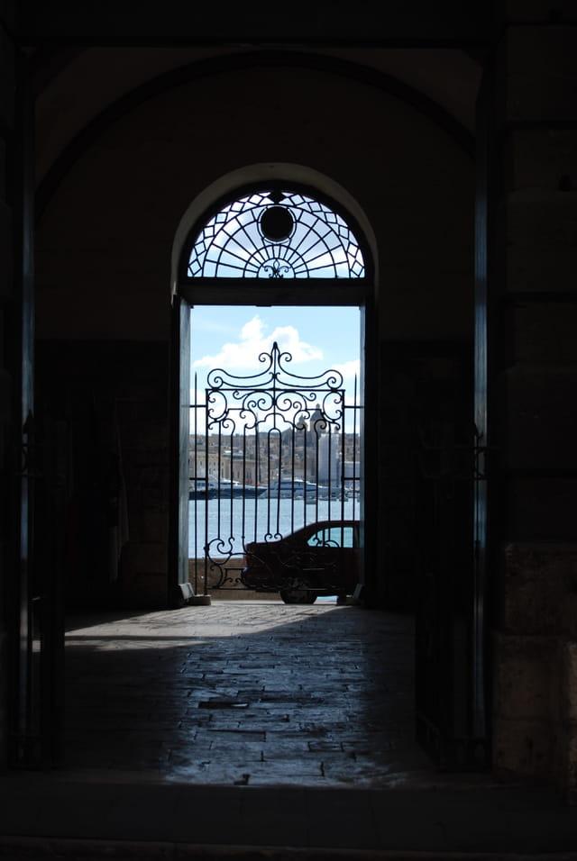vue sur le port de La Valette