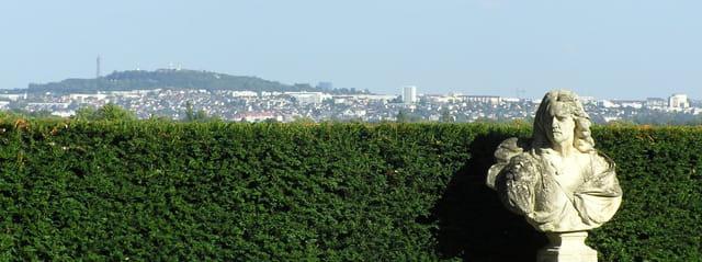 Vue sur Paris depuis Le Pecq