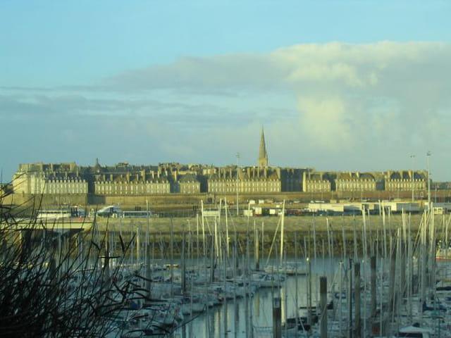 Vue sur Saint Malo