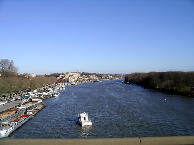 Vue sur Seine