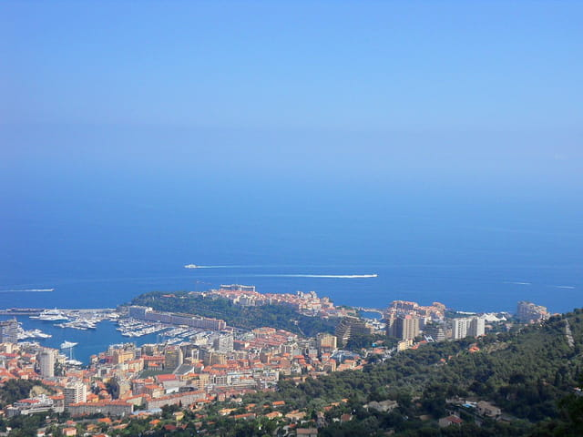 Vue vers Monaco (2)