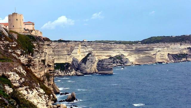 Vues sur les falaises de Bonifacio