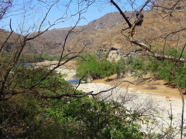 Wadi Darbat en saison sèche
