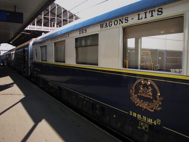 Wagon - Cie internationale des wagons-lits.