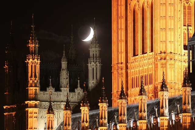 """Westminster """"by night"""""""