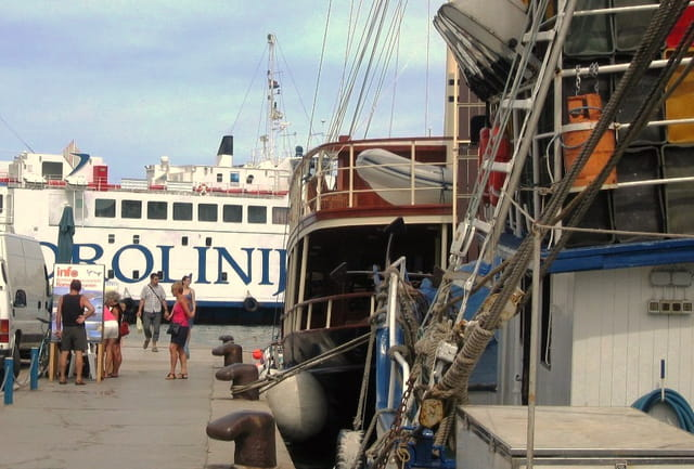 Zadar en Croatie