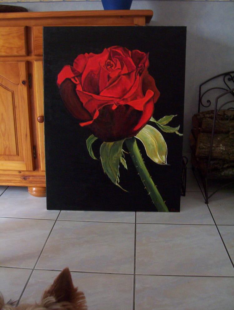 899 vues janine piaud peinture acrylique originale 80cm sur 60cm