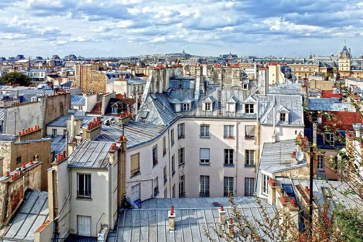 Sur les toits de paris par babeth bonnereau sur l 39 internaute - Visite des toits de paris ...