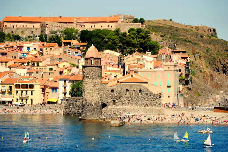 Collioure la jolie par chantal surquin sur l 39 internaute for Les jardins de collioure