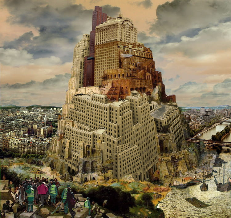 tour de babel par david erlich sur l internaute