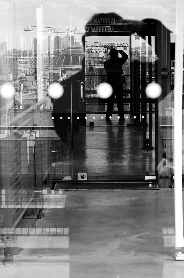 Autoportrait de l 39 auteur photographe en pied par for Statut auteur photographe