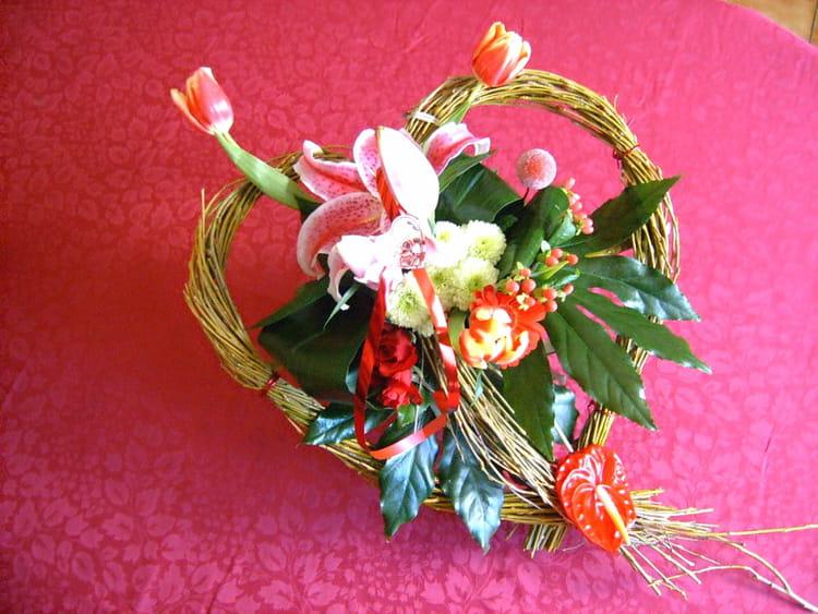 Bouquet saint valentin par martine guilbert pellet sur l for Bouquet saint valentin