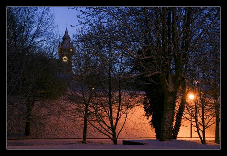 Bruay sous la neige 2 par eric turek sur l 39 internaute - Meteo bruay la buissiere ...